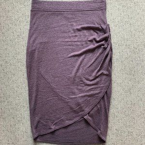 Aritzia Wilfred Purple Tulip Skirt, XS